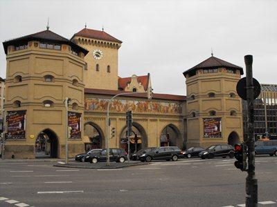 Isartor -                 city gate