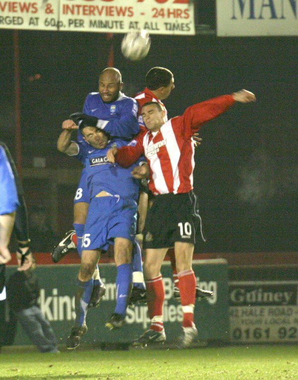 a8456ef2d16 RIght  From Gavin Rathbone comes this image of Alty s Greg Young and Ryan  Shotton competing for the ball against Farsley on Tuesday.