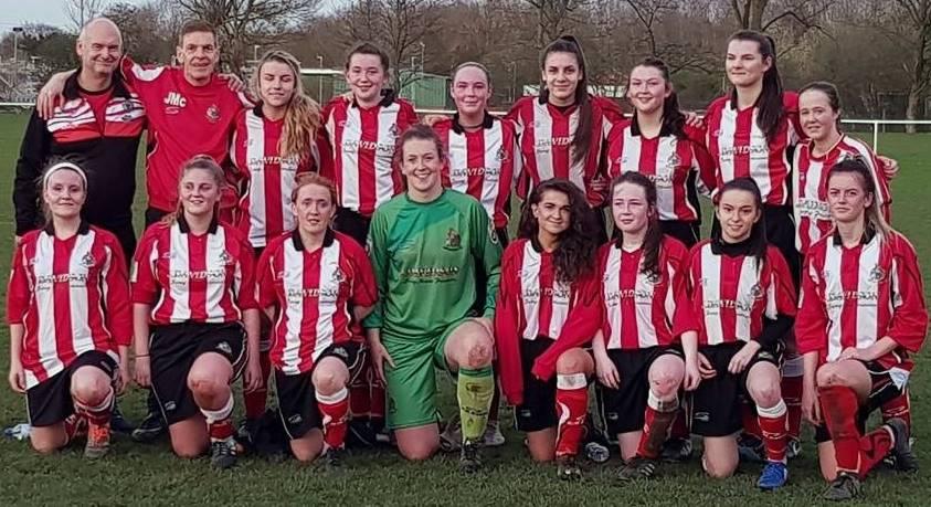 99b81bcb40c Above: Altrincham FC Ladies Development team. Image courtesy of Keith  Edleston.