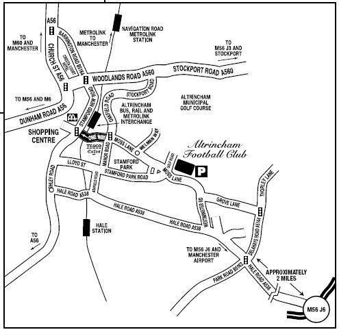 Moss Lane Map